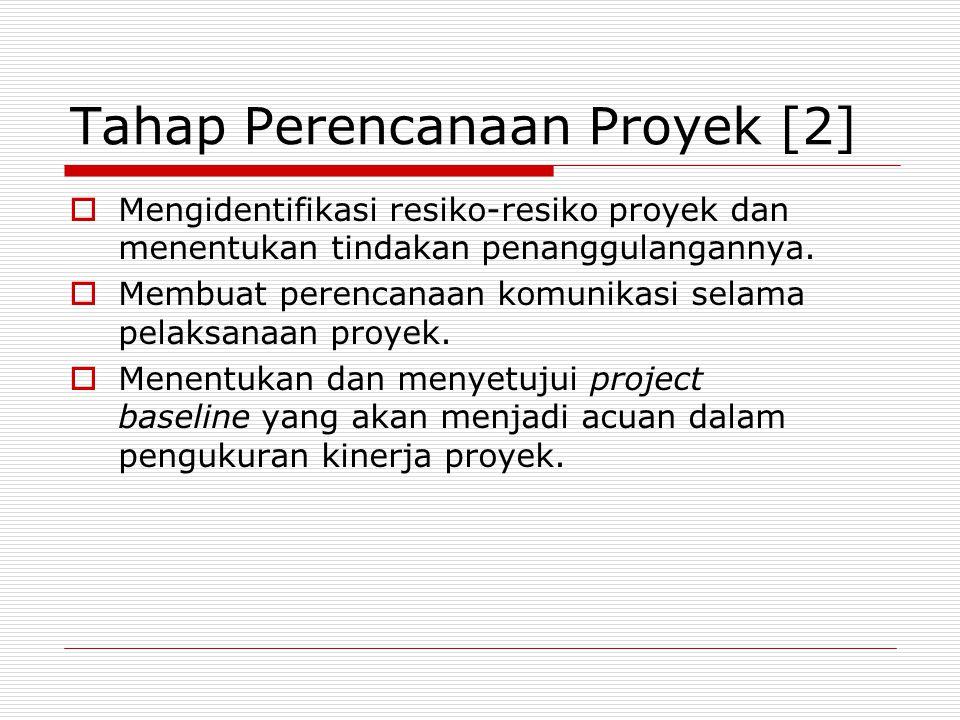 Tahap Perencanaan Proyek [2]